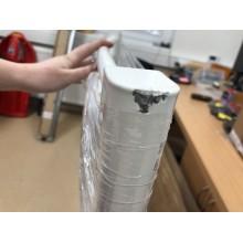 VÝPRODEJ Kermi B20-R koupelnový radiátor 1174 x 590 mm, zaoblený, bílá LR0101200602XXK POŠKOZENÉ