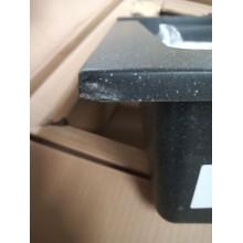 VÝPRODEJ ALVEUS Rock 80 granitový kuchyňský dřez 595x475 mm, černá POŠKOZENÝ ROH!!!