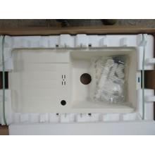 VÝPRODEJ BLANCO FAVUM XL 6 S Silgranit jasmín oboustranné provedení 524236 S OTVOREM PRO BATERII!!