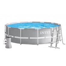 INTEX Bazén Prism Frame Pools 3,66m X 0,99m S Kartušovou filtrací 26716GN