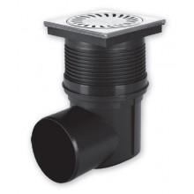 Kanalizační vpusť boční D 110 (KVB110S-N) suchá, nerez 324SN