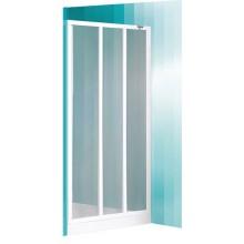 ROLTECHNIK Sprchové dveře skládací LD3/900 bílá/grape 215-9000000-04-11