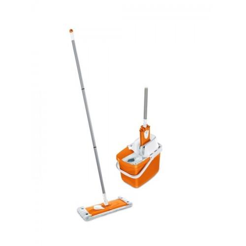 leifheit combi clean m set orange 52061. Black Bedroom Furniture Sets. Home Design Ideas