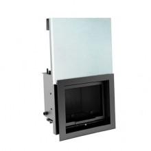 KRATKI MAJA/PW/12/G/W krbová vložka teplovodní, výsuvné sklo, s chladící smyčkou