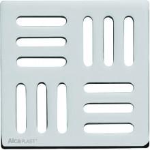 ALCAPLAST Mřížka 102 × 102 nerez MPV004