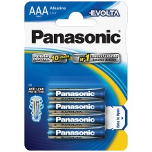 PANASONIC LR03 4BP AAA Evolta alk Baterie 35049220