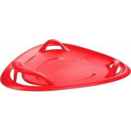 PLASTKON Sáňkovací talíř Meteor 60 červená