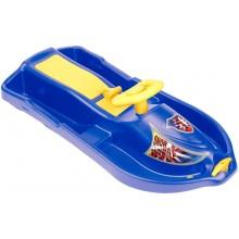 PLASTKON Řiditelný bob Snow Formule modrá