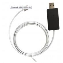 ELEKTROBOCK Převodník USB/RS232-RJ11 PRE-RS232/USB 4114elb