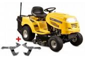 Riwall PRO RLT 92 T POWER KIT - travní traktor se zadním výhozem a 6-ti stupňovou převodovkou Transmatic 13AB765E623_kit