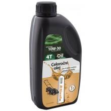 Riwall PRO Celoroční olej pro 4-taktní motory (1 l, SAE10W-30) RACC00006