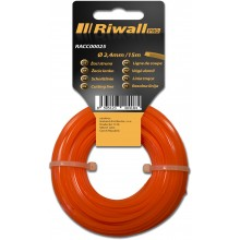 Riwall PRO Žací struna pr. 2,4mm, délka 15m, čtvercový průřez RACC00025