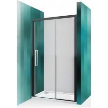 ROLTECHNIK Sprchové dveře posuvné pro instalaci do niky ECD2P/1200 černý elox/transparent 565-120000P-05-02
