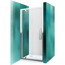 ROLTECHNIK Sprchové dveře jednokřídlé pro instalaci do niky ECDO1N/900 brillant/transparent 562-9000000-00-02