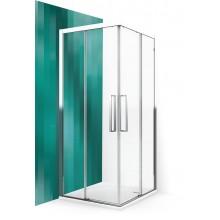 ROLTECHNIK Sprchové dveře posuvné ECS2P/900 brillant/transparent 560-900000P-00-02