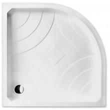 ROLTECHNIK Čtvrtkruhová samonosná sprchová vanička z koextrudované skořepiny s PU nosičem HAWAII-P/900 8000025