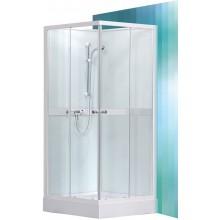 ROLTECHNIK Sprchový box čtvercový SIMPLE SQUARE/800 bílá/transparent 4000692