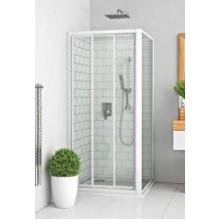 ROLTECHNIK Boční stěna LLBD/1000 bílá/transparent 412-1000000-04-02