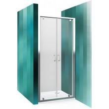 ROLTECHNIK Sprchové dveře dvoukřídlé pro instalaci do niky LLDO2/900 brillant/transparent 552-9000000-00-02