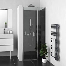 ROLTECHNIK Sprchové dveře jednokřídlé s pevnou částí LZDO1/1000 brillant/transparent 226-1000000-00-02