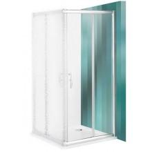 ROLTECHNIK Sprchové dveře posuvné PXS2P/1000 brillant/transparent 529-1000000-00-02