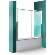 ROLTECHNIK Vanová zástěna s posuvnými dveřmi LLV2/1500 brillant/transparent 572-1500000-00-02
