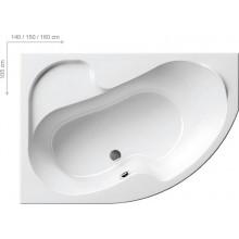 RAVAK Vana Rosa 160 x 105 L snowwhite CM01000000