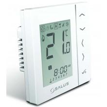 SALUS VS10WRF Bezdrátový termostat 4v1, bílý, podomítkový