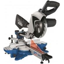 SCHEPPACH HM 80 MP dvourychlostní multifunkční pokosová pila s potahem a laserem 5901207901