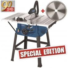 SCHEPPACH HS 100 S Special edition - stolová pila + kotouč pro jemné řezy 590131090