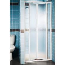 RAVAK SUPERNOVA SDZ3-80 sprchové dveře zalamovací, white+pearl 02V4010011