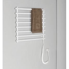 SAPHO AQUALINE Elektrický sušák ručníků, 570x465 mm, 110W, bílý SU110