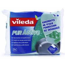 VILEDA PUR Active houbička střední 2 ks 116509