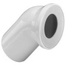 VIEGA Připojovací oblouk pro WC 100/45 st. bílá 101718V