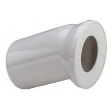 VIEGA Připojovací koleno pro WC 100/22,5 bílá 101855