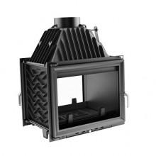 KRATKI ZUZIA/T 16 kW krbová vložka teplovzdušná, průhledové sklo