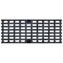 ACO Drainlock V/X150 - D400/E600, rošt mřížkový s podélnými pruty 0,5 m, litina 13074