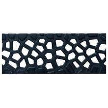 "ACO Self rošt 0,5 m design: ""Voronoi"" litinový 310319"