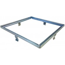 ACO Self Rámeček pro nerezový rošt 250 x 250 mm, nerez 37186