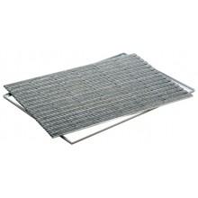 ACO Vario Indoor, rohožka 75 x 50 cm, AL profil, výplň plsť - šedá 37256