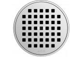 ACO ShowerPoint rošt průměr 126 mm, bez aretace Quadrato 5141.25.22