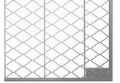 ACO Allround Rošt 400 x 200mm tahokov 35580