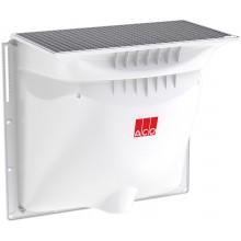ACO Allround Sklepní světlík pochozí, 1250 x 1300 x 600 mm, mřížkový - oka 30/10 mm 375018