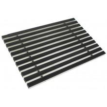 ACO rohožka s gumovou výplní 60 x 40cm, černá hliníkové profily 01213