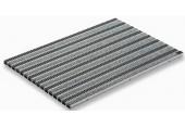 ACO rohožka s plstěnou výplní a kazetovými kartáči 100x50cm, šedá hliník. profily 10704