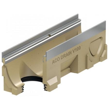 ACO DRAIN Multiline Odvodňovací žlab V100S, 500 mm, hrana z pozink. oceli 12333