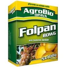 AgroBio FOLPAN 80 WG proti plísni révové v révě vinné 5x100 g