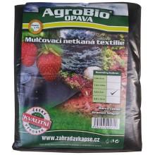 AgroBio netkaná textilie 50 g/m2 1,6x10 m, černá