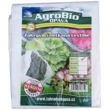 AgroBio netkaná textilie 19 g/m2 1,6x10 m, bílá