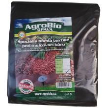 AgroBio netkaná textilie 50 g/m2 1,6x10 m, hnědá